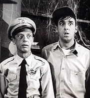 Barney Fife and Gomer Pyle