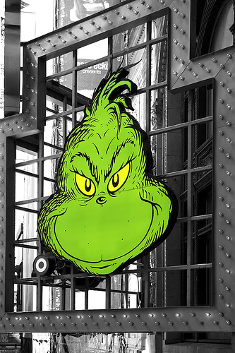 Grinch in NYC