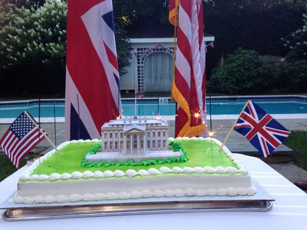 Commemoration Cake