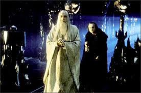 Saruman and Wormtongue